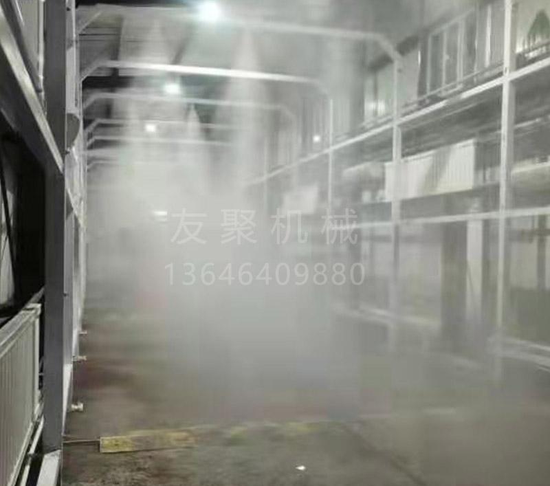 车辆防疫洗消中心