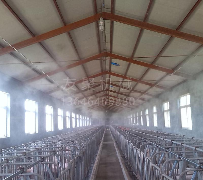 养殖场喷雾消毒除臭设备